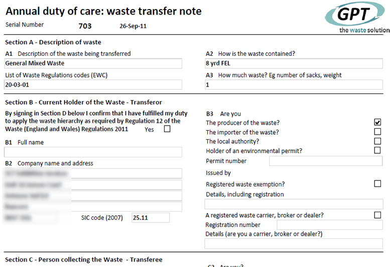 bespoke waste management software